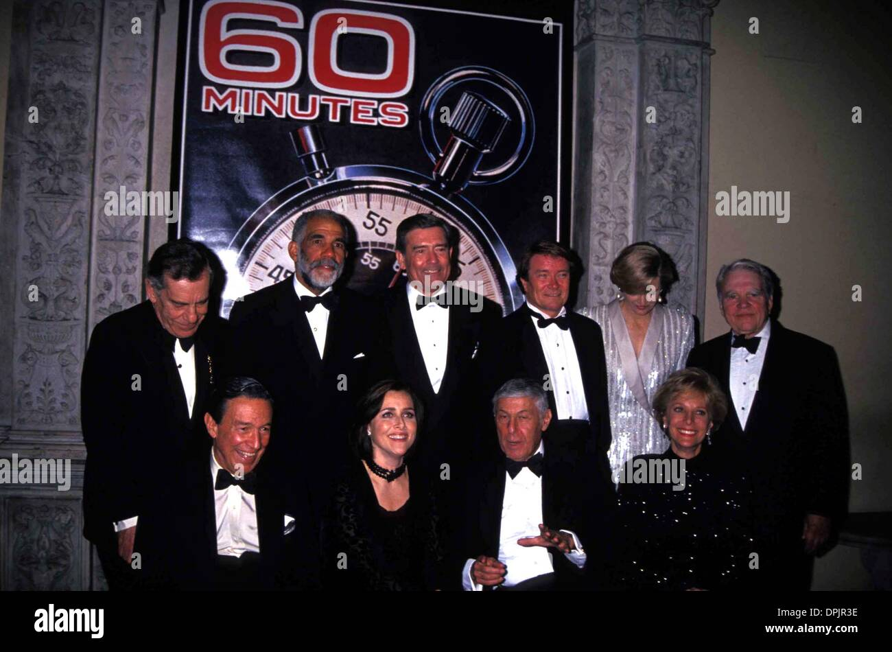 Apr 13  Minutes 25th Anniversary  Minutes Cast Stephen Trupp Front Mike Wallace Lesley Stahl Back Morley Safer Ed Dley