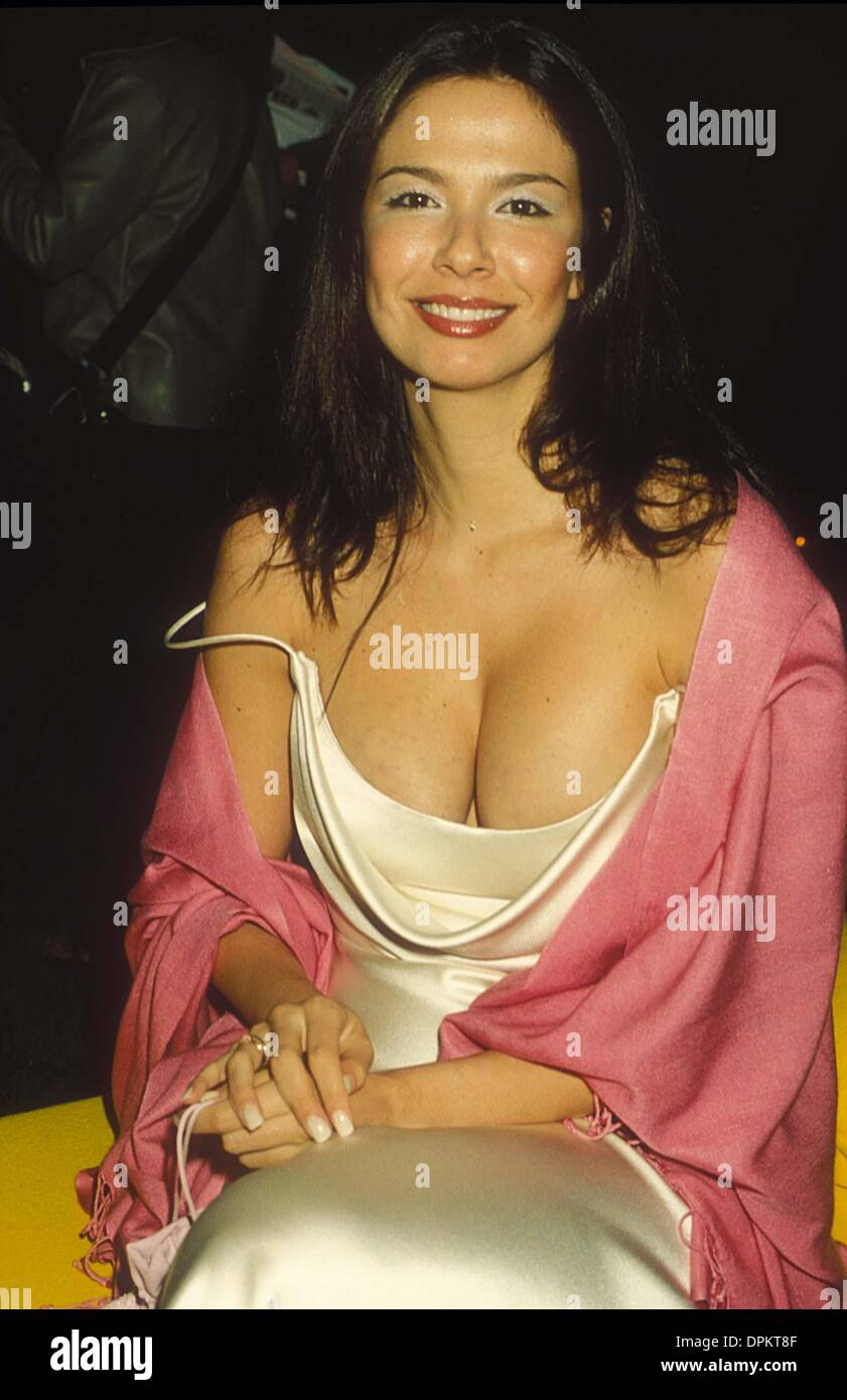 May 11, 2006 - LUCIANA MORAD AT ''TRIPLE EXPOSURE'' EXHIBITION 1999. DAVE BENETT-   GETTY IMAGES(Credit Image: © Globe Photos/ZUMAPRESS.com) - Stock Image