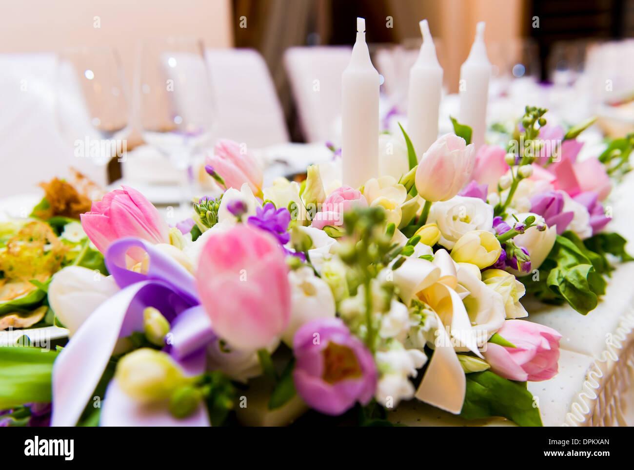 Decorate Decoration Flowers Wedding Stock Photos Decorate