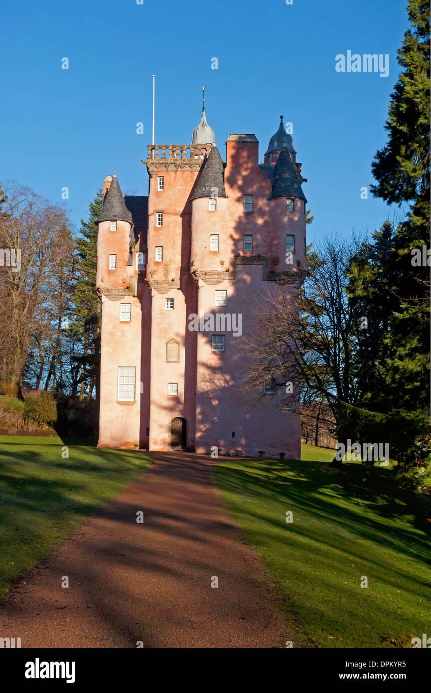 Craigievar Castle, By Alford, Aberdeenshire. Grampian Region.  SCO 9207 - Stock Image