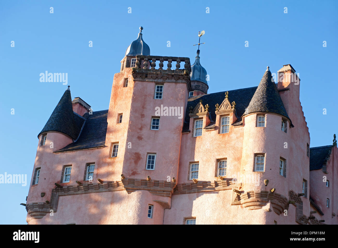 Craigievar Castle, By Alford, Aberdeenshire. Grampian Region.  SCO 9208 - Stock Image
