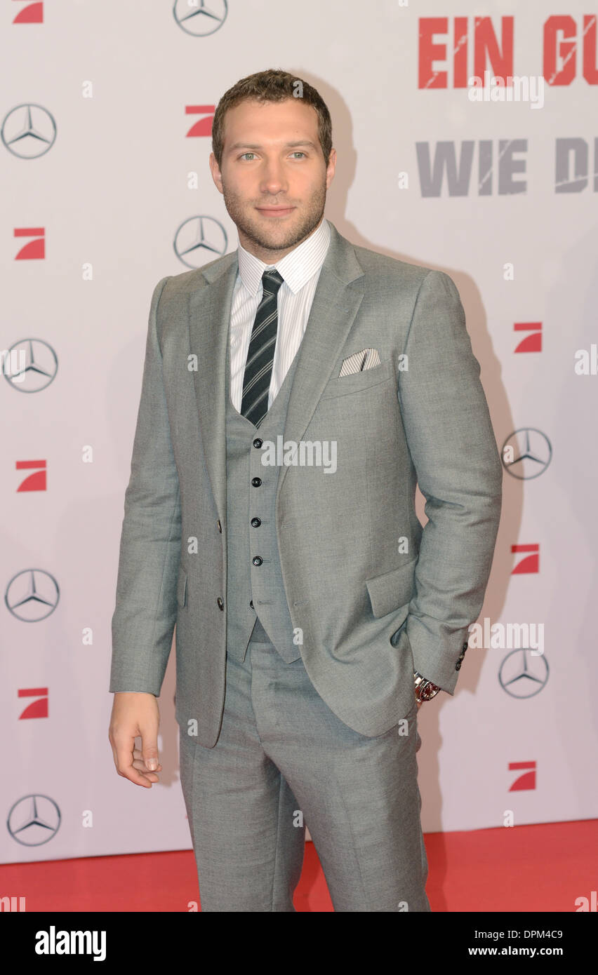 Jai Courtney - Germany premiere of 'A Good Day to Die Hard' at Potsdamer Platz, Berlin - February 4th 2013 - Stock Image