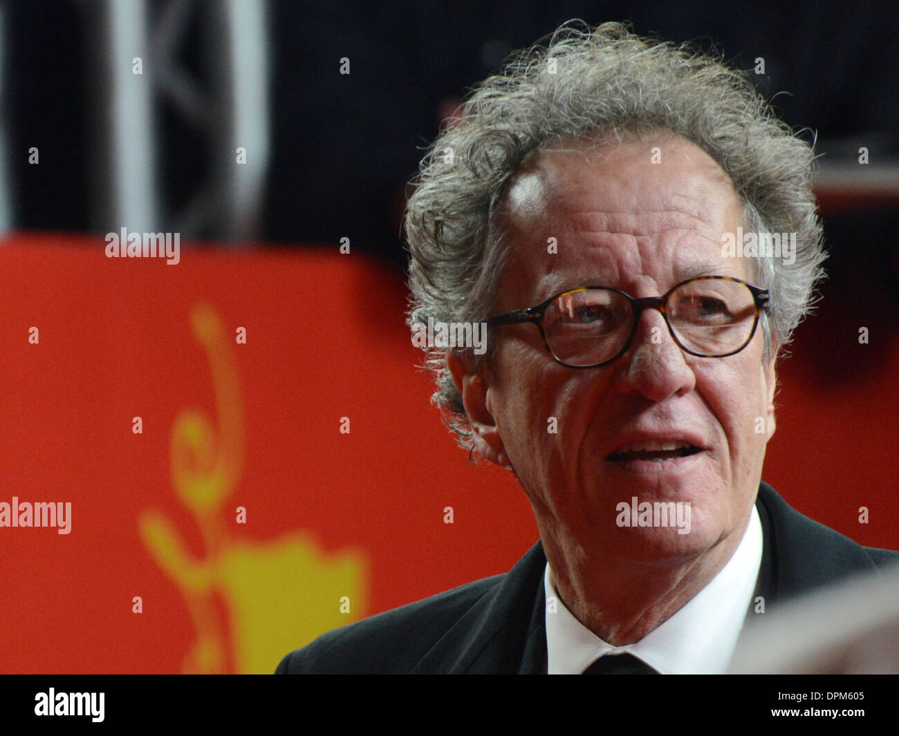 Geoffrey Rush - 63rd Annual Berlinale International Film Festival, 'The Best Offer' Premiere, Berlin - February 12th 2013 - Stock Image