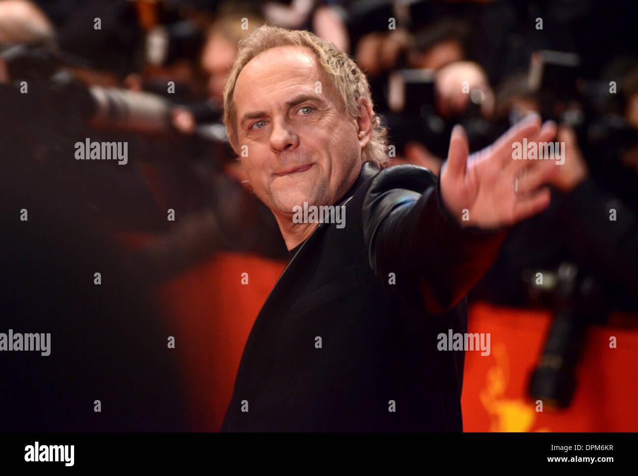 Uwe Ochsenknecht - 63rd Annual Berlinale International Film Festival, 'The Croods' Premiere, Berlin - February 15th 2013 - Stock Image