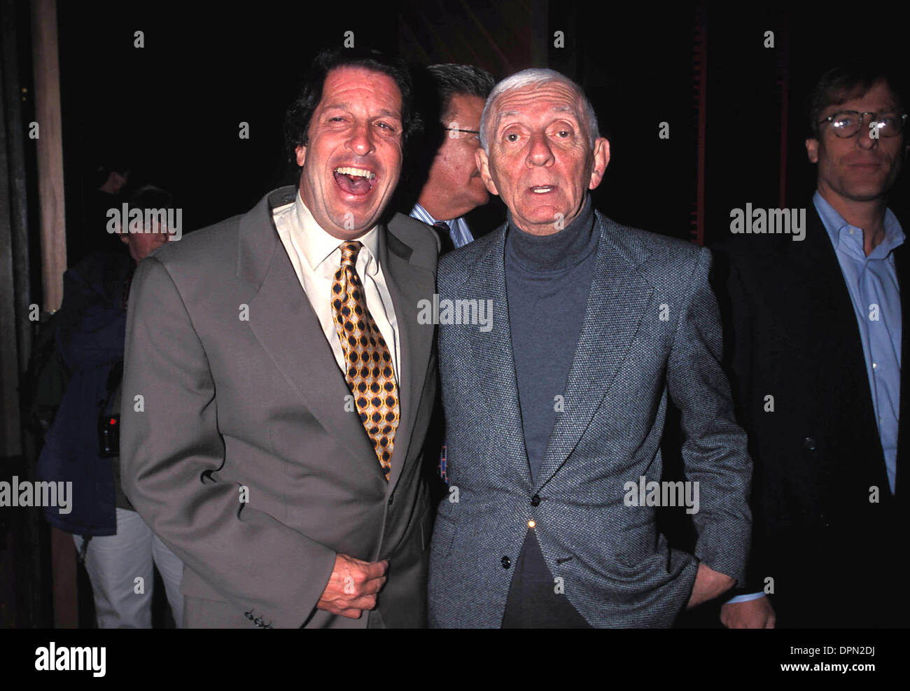 June 26, 2006 - K13963LR.BEVERLY HILLS 90210 250TH EPISODE PARTY .PETER ROTH AND AARON SPELLING 11-04-1998. LISA ROSE-  PHOTOS(Credit Image: © Globe Photos/ZUMAPRESS.com) - Stock Image