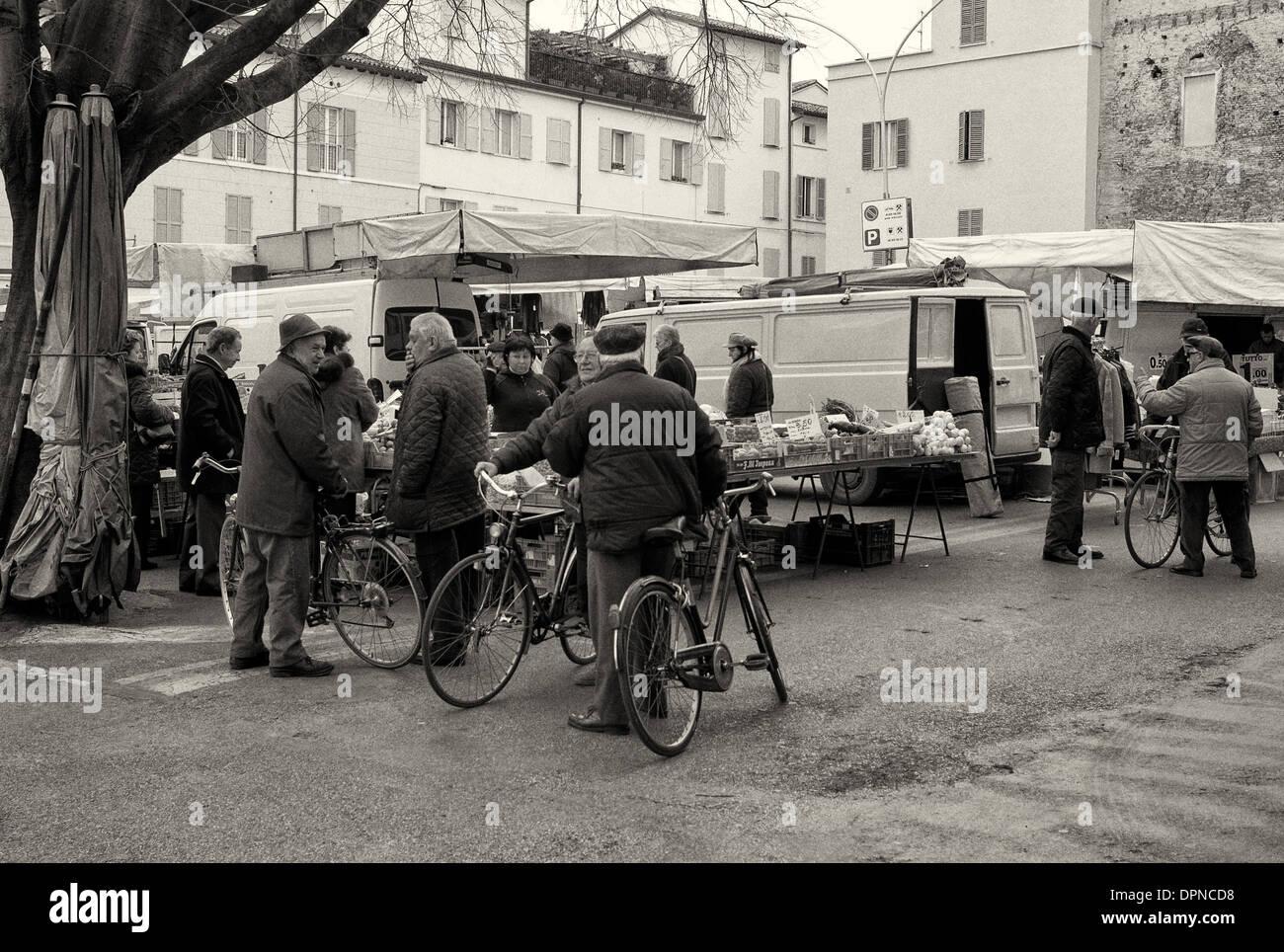 Piazza Martiri della Liberta, Faenza, Emilia Romagna - Stock Image