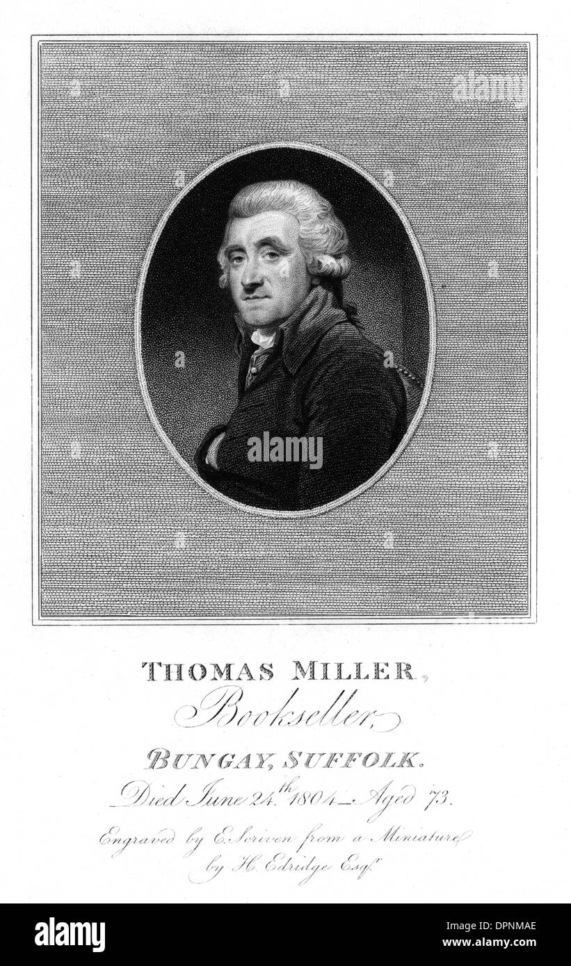 THOMAS MILLER - Stock Image