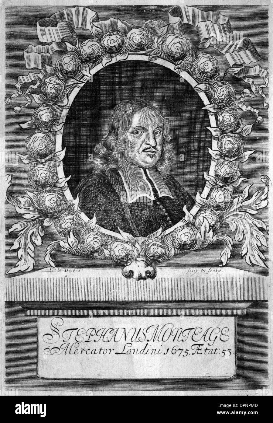 STEPHEN MONTEAGE - Stock Image