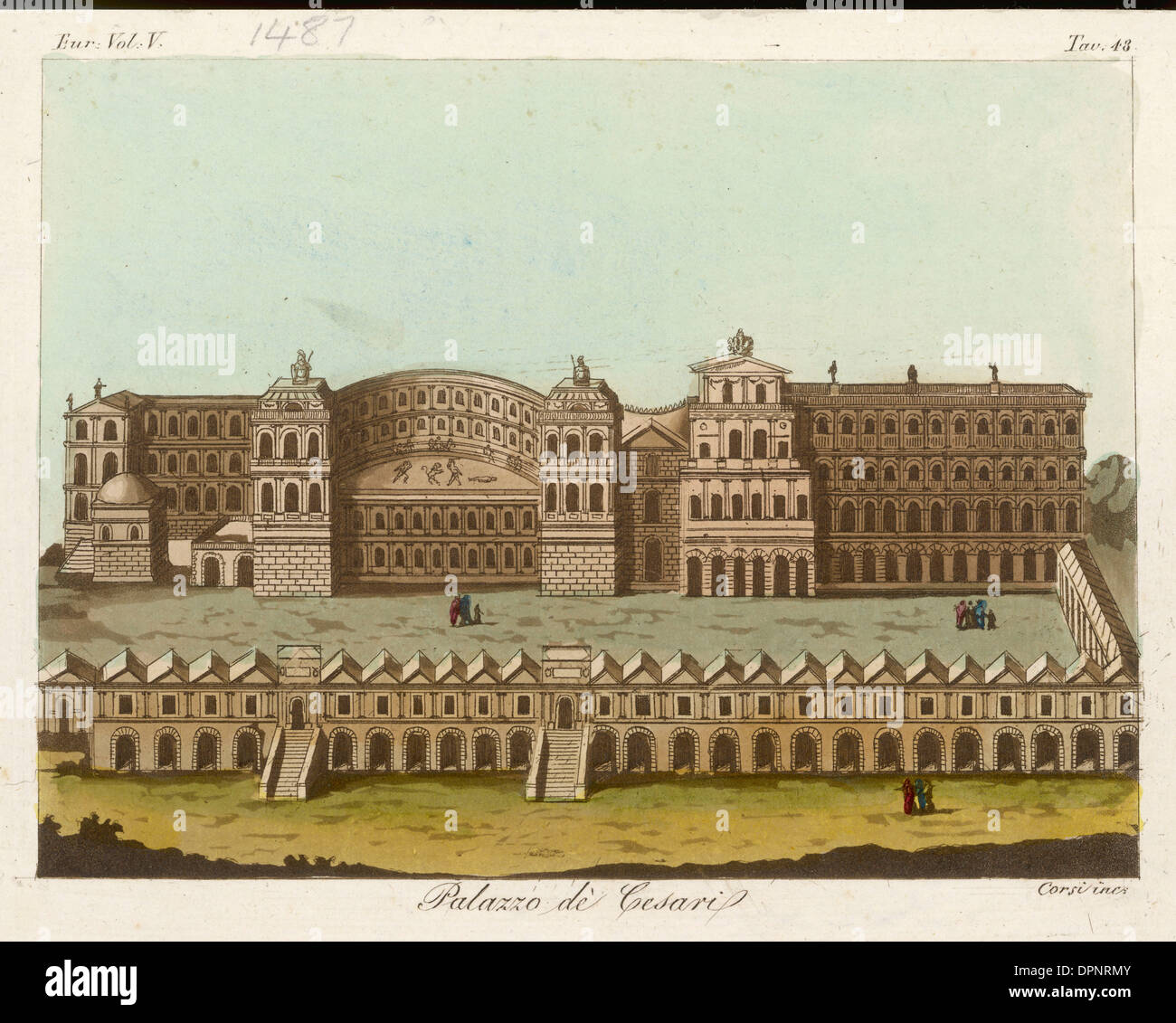ROME - CAESAR'S PALACE - Stock Image