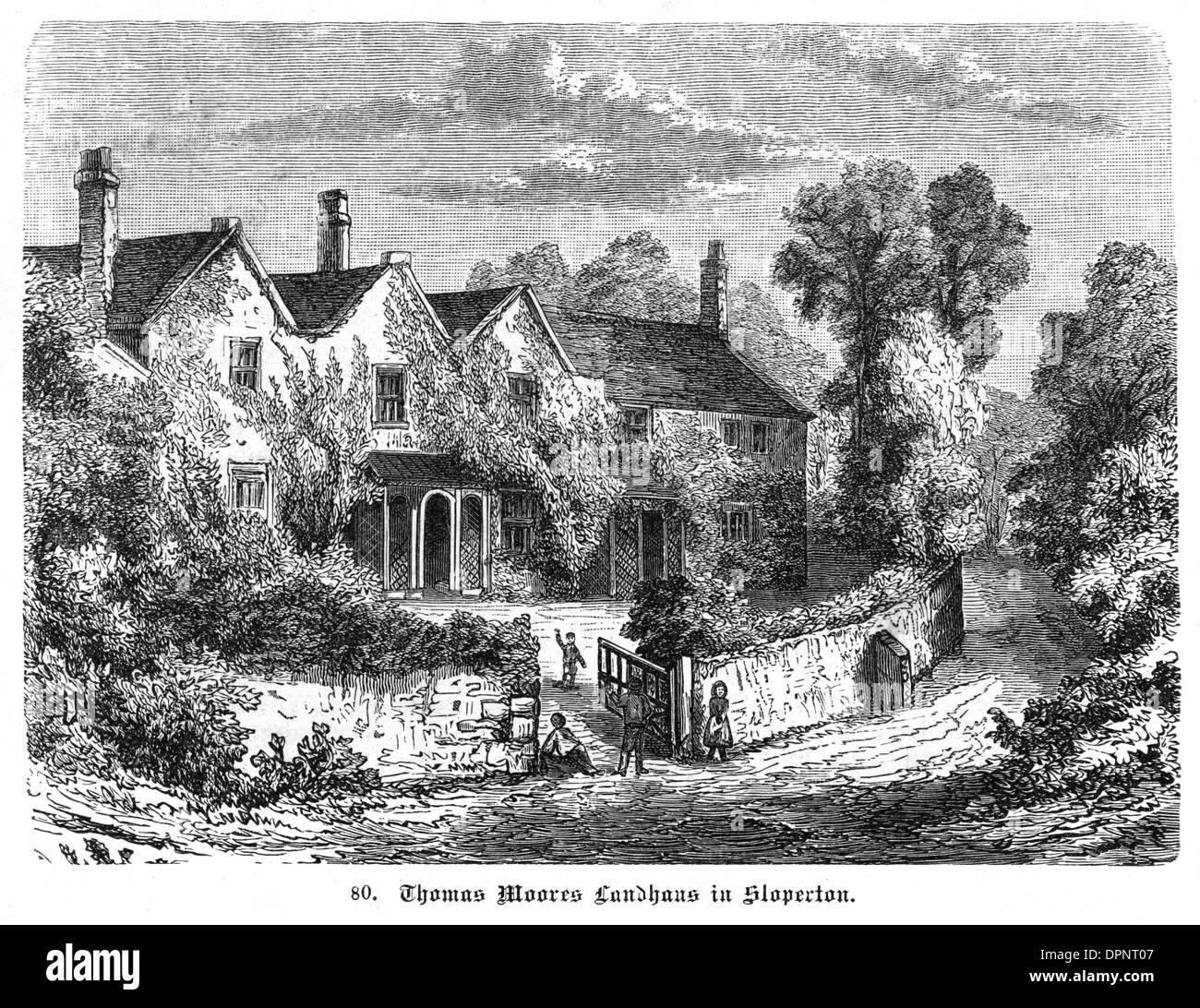 THOMAS MOORE HOME - 3 - Stock Image