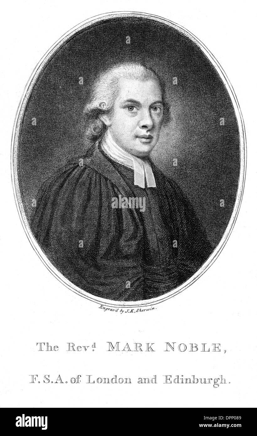 MARK NOBLE - Stock Image