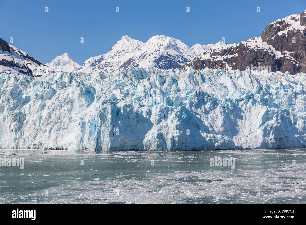 Margerie Glacier, Glacier Bay Alaska - Stock Image