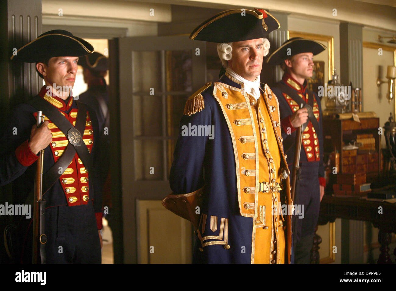 Aug. 14, 2006 - JACK DAVENPORT (CENTER).PIRATES 3.PIRATES OF THE CARIBBEAN: AT WORLD'S END.SUPPLIED BY ES-   TV-FILM STILL.K53369(Credit Image: © Globe Photos/ZUMAPRESS.com) - Stock Image