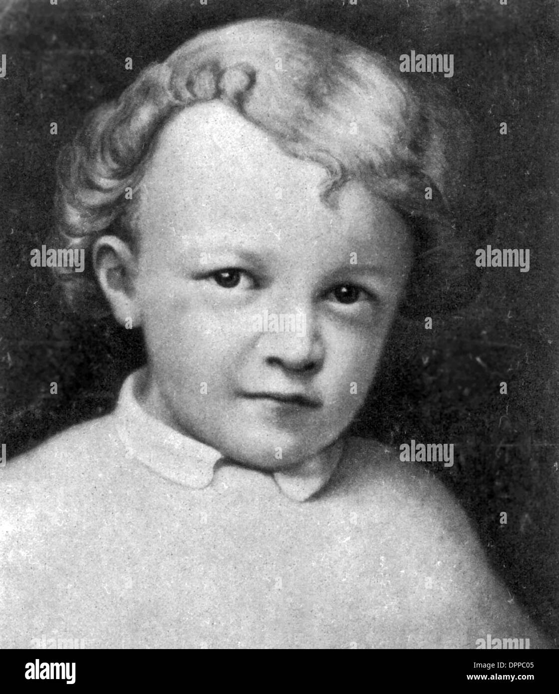 Vladimir Ilyich Lenin aged 4, Russian communist revolutionary, politician and Premier of the Soviet Union - Stock Image