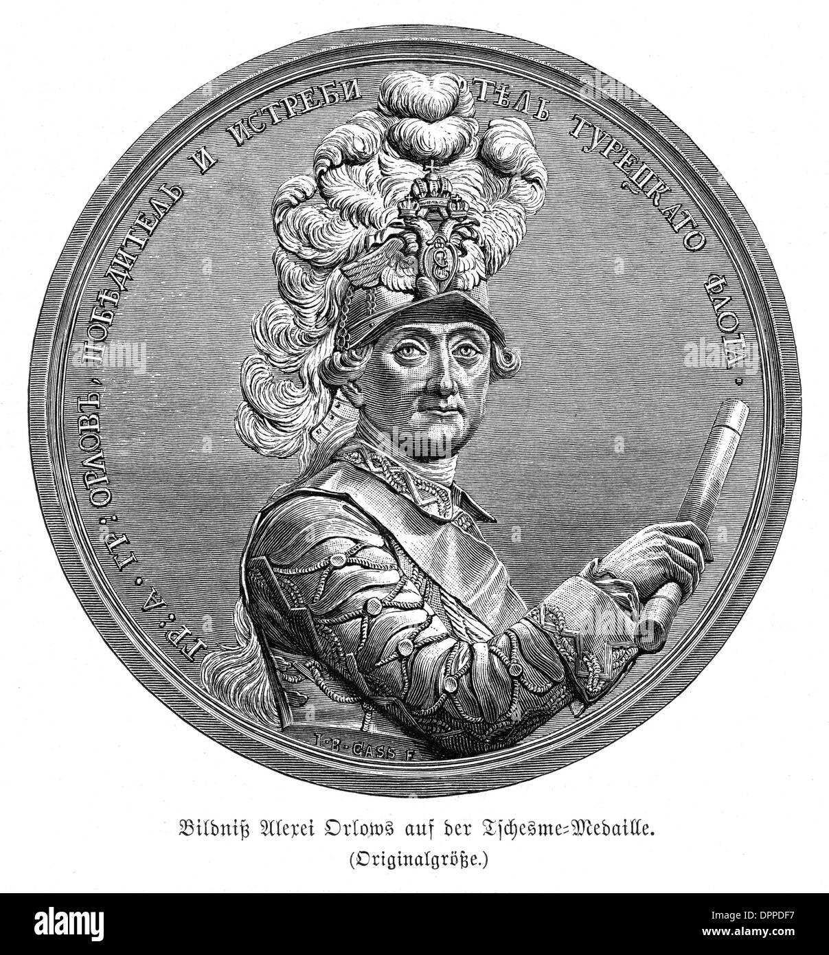 ALEXIS GREG. ORLOV - Stock Image