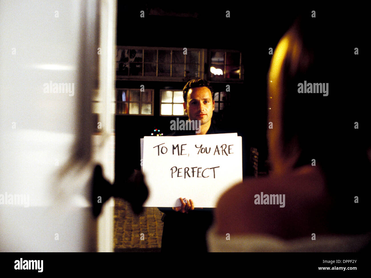 Jan. 24, 2006 - K46482ES.'' LOVE ACTUALLY ''.TV-FILM STILLS.SUPPLIED BY    ANDREW LINCOLN(Credit Image: © Globe Photos/ZUMAPRESS.com) - Stock Image
