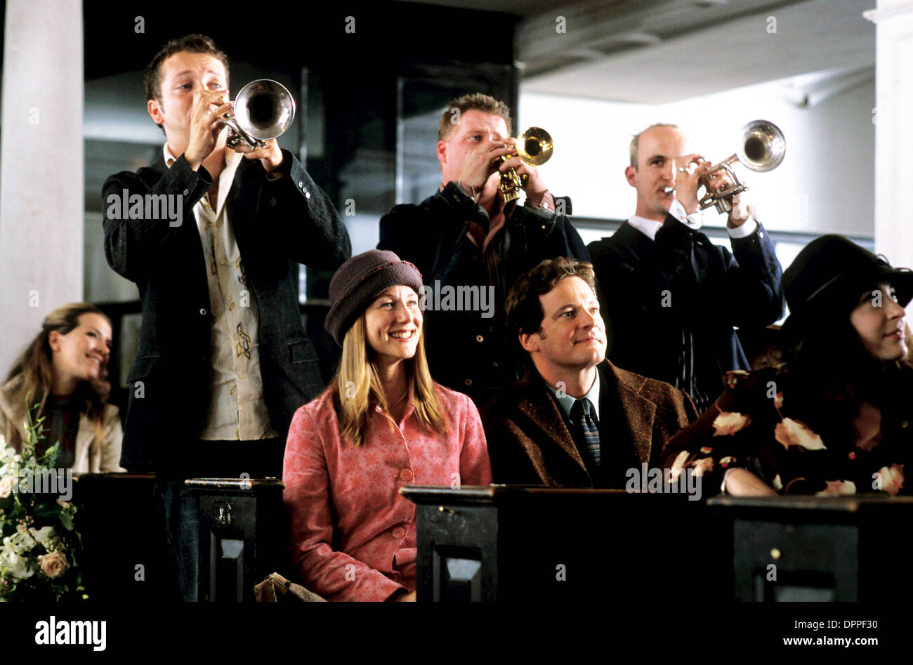 Jan. 24, 2006 - K46482ES.'' LOVE ACTUALLY ''.TV-FILM STILLS.SUPPLIED BY    LAURA LINNEY AND COLIN FIRTH(Credit Image: © Globe Photos/ZUMAPRESS.com) - Stock Image