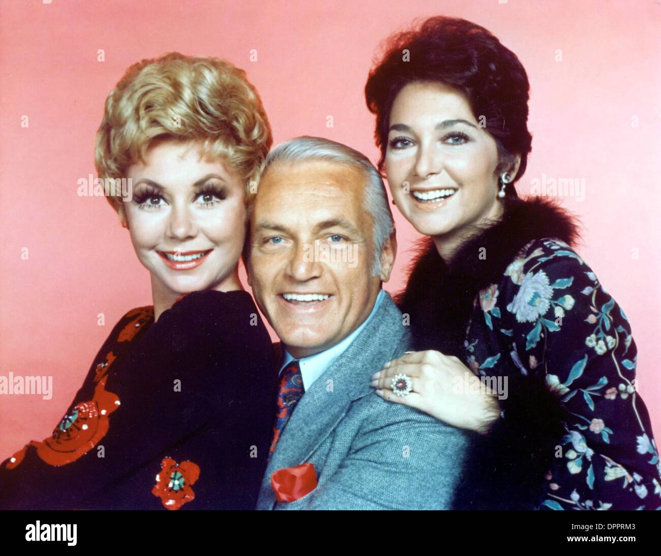 Aug. 10, 2006 - SUZANNE PLESHETTE WITH MITZI GAYNOR AND TED KNIGHT .SUPPLIED BY (Credit Image: © Globe Photos/ZUMAPRESS.com) - Stock Image