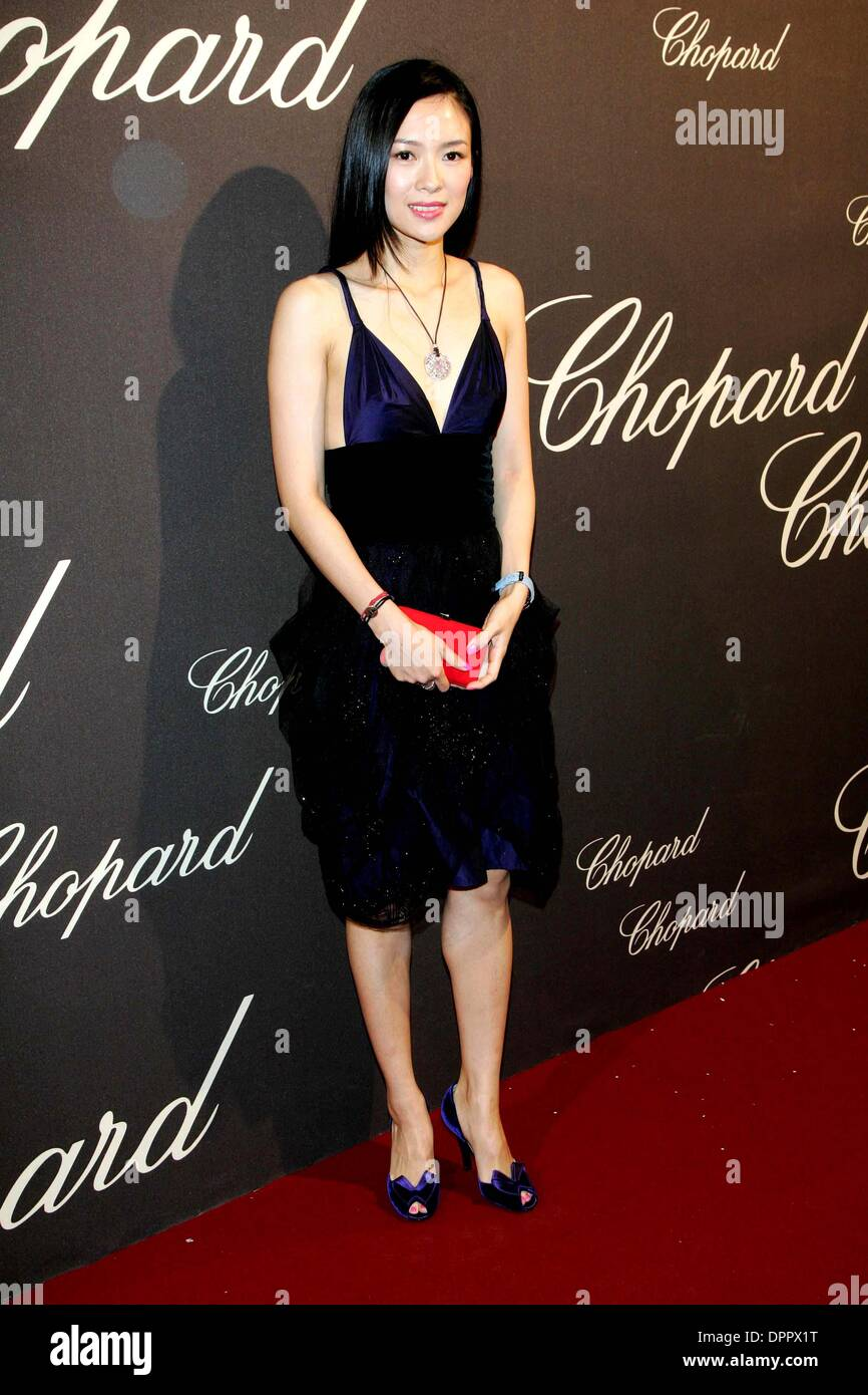May 20, 2006 - ZIYI ZHANG..CHOPARD TROPHY..59TH FILMFEST CANNES..HOTEL CARLTON, CANNES, FRANCE, MAY 19TH.. ALEC MICHAEL..© A. MICHAEL /    2006(Credit Image: © Globe Photos/ZUMAPRESS.com) - Stock Image