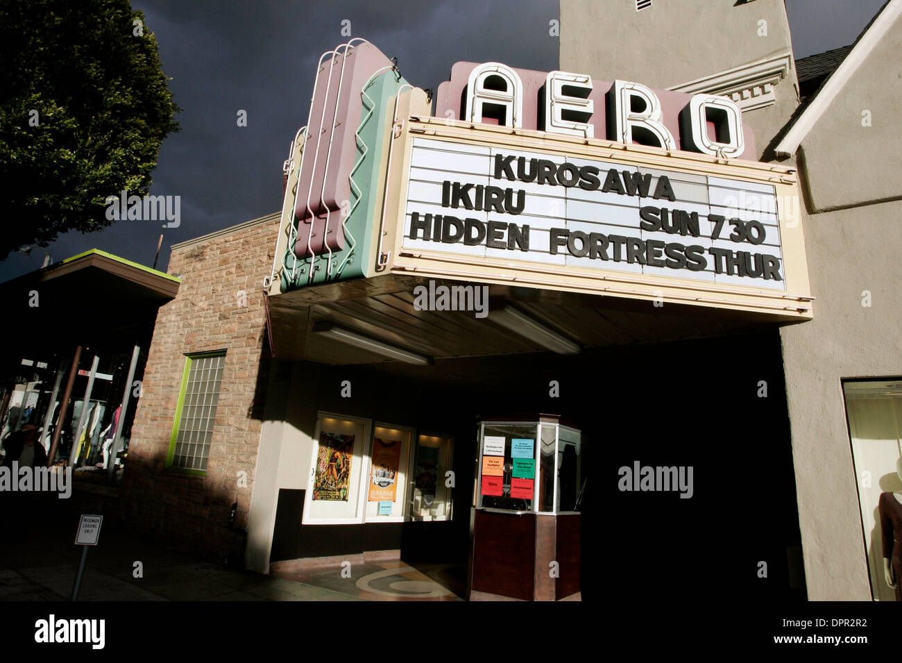 Aero Theater High Resolution Stock Photography And Images Alamy
