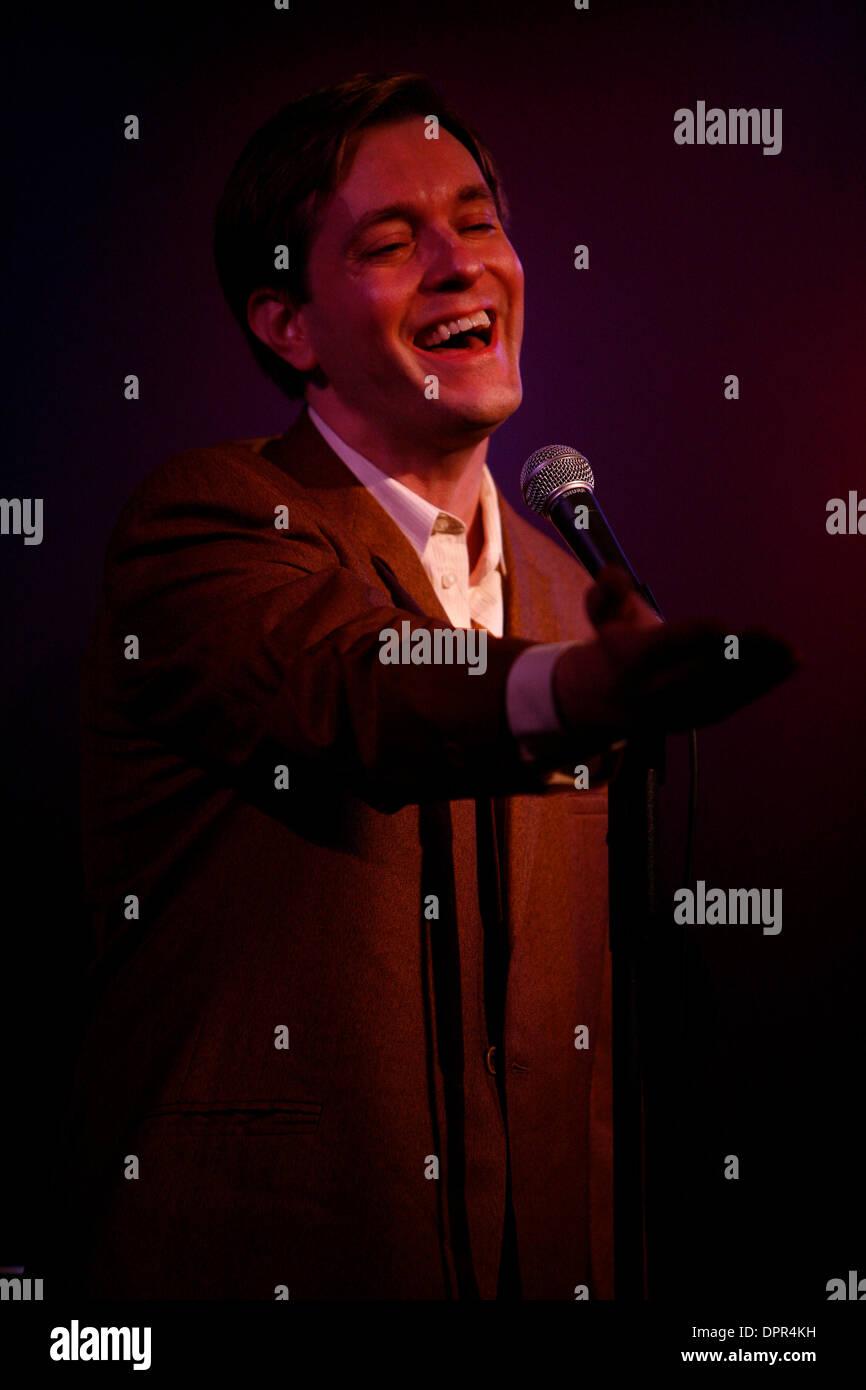 Jan 06, 2009 - New York, New York, USA - Singer MORGAN SILLS performing at The Metropolitan Room. (Credit Image: © Aviv Small/ZUMA Press) - Stock Image