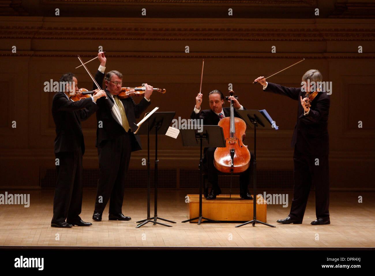 Feb 08, 2009 - New York, NY, USA - The Emerson String