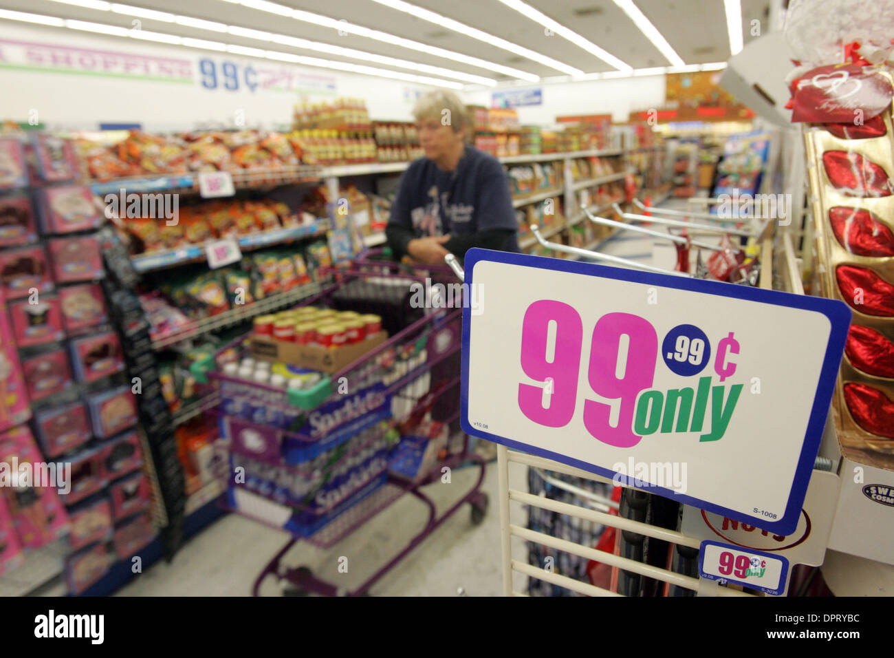 99 Cents Store Stock Photos Images