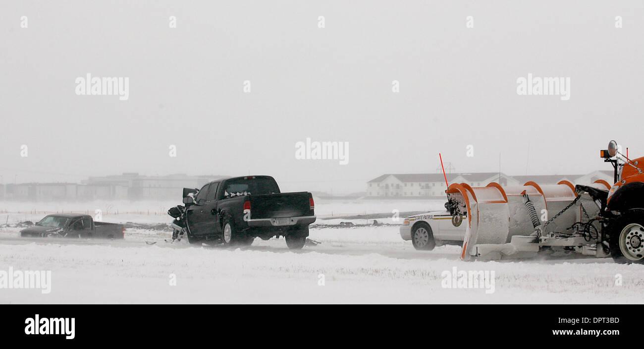 Mar 09, 2009 - Fargo, North Dakota, USA - Early morning freezing