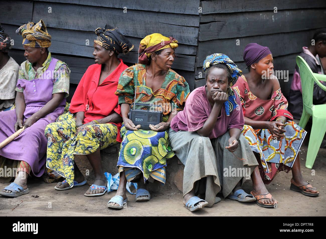 Mar  25, 2009 - Goma, DEM  REP  OF THE CONGO - Rape victims
