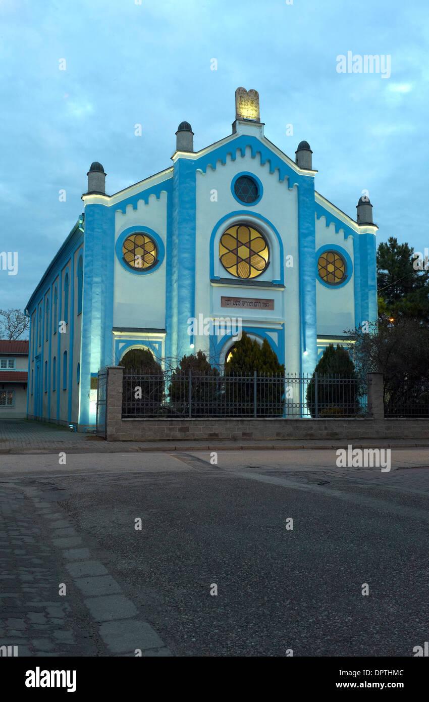 The Synagogue in Nove Zamky, Slovakia - Stock Image