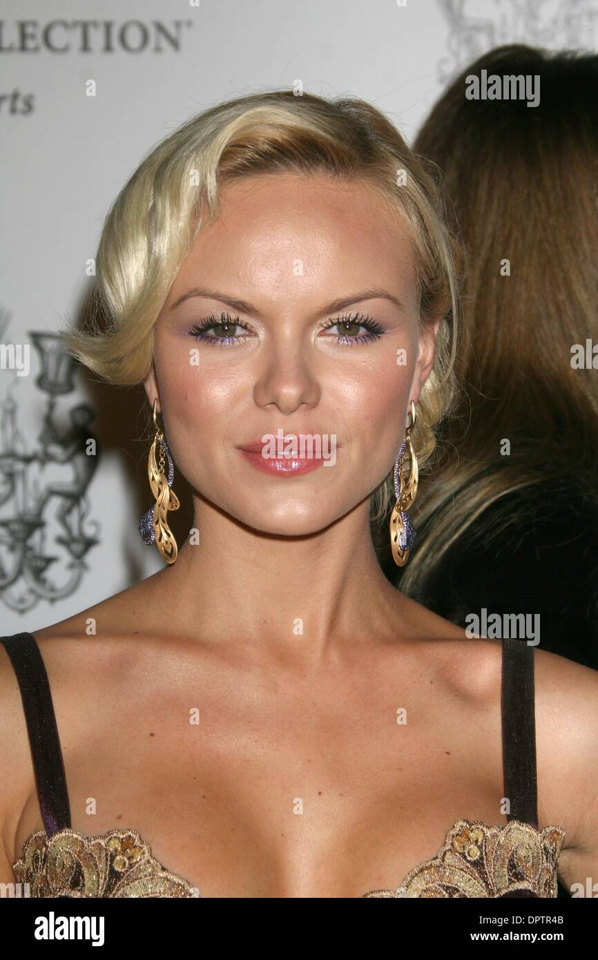 Dec 04, 2008 - Los Angeles, California, USA - Actress ANYA MONZIKOVA  at the SBE Celebration and Grand Opening of the SLS Hotel in Beverly Hills (Credit Image: © Paul Fenton/ZUMA Press) - Stock Image