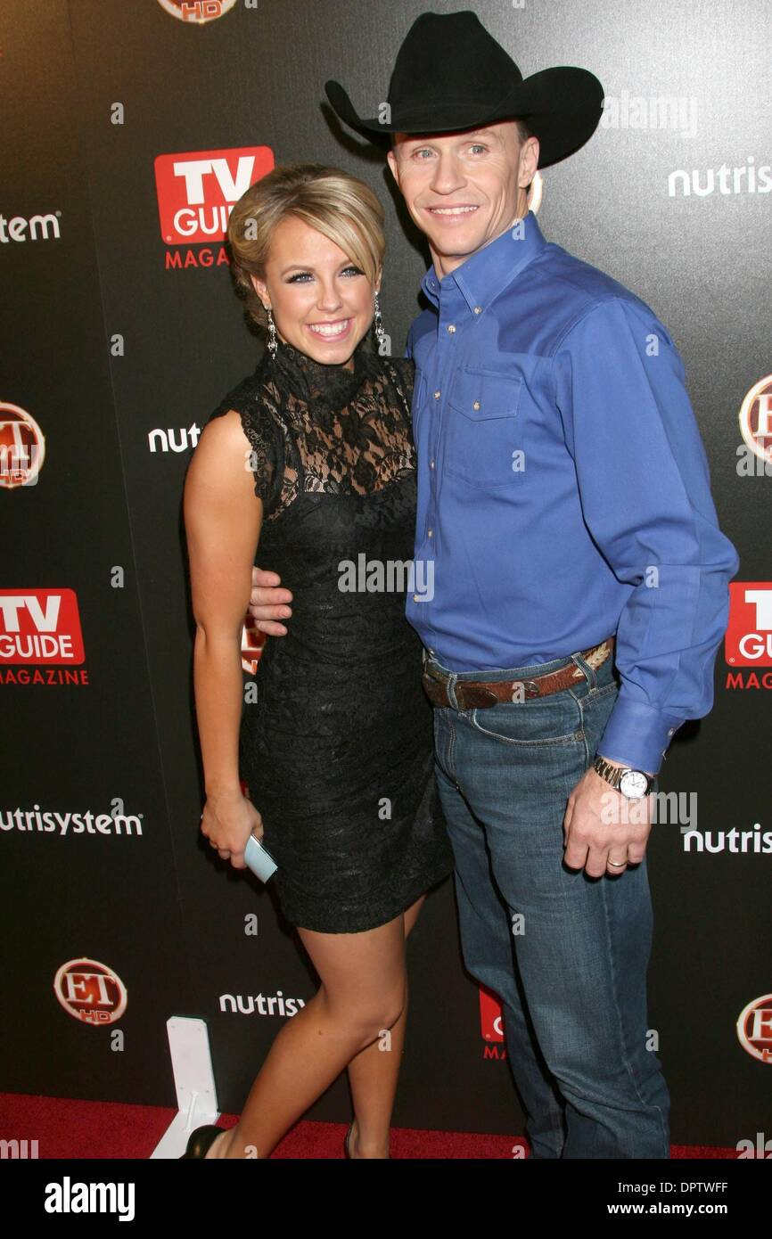 Mar 24, 2009 - Los Angeles, California, USA - Stuntman TY MURRAY and TV Personality CHELSEA HIGHTOWER at the TV Guide's Sexiest Stars 2009 event held at the Sunset Towers Hotel, Los Angeles. (Credit Image: © Paul Fenton/ZUMA Press) - Stock Image