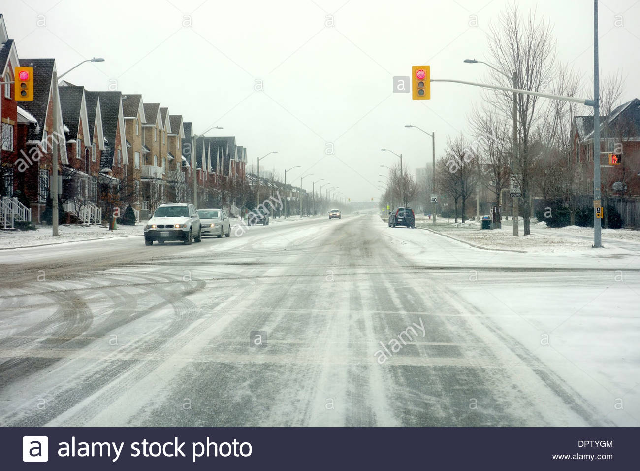adverse driving conditions in a winter day outside toronto canada stock photo alamy https www alamy com adverse driving conditions in a winter day outside toronto canada image65702020 html