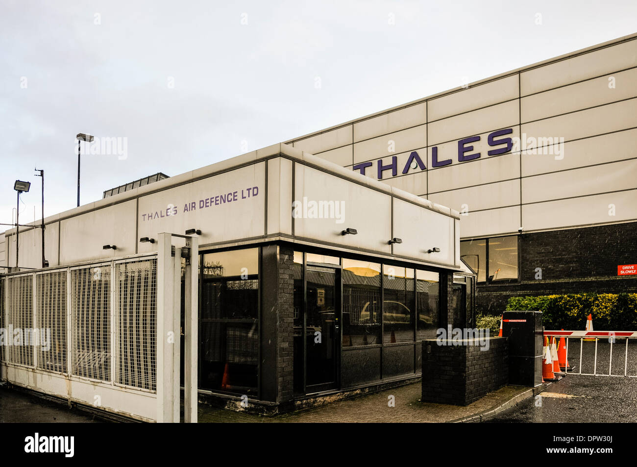 Belfast, Northern Ireland. 15 Jan 2014. Thales UK win £100m Indonesian contract for Starstreak missiles and radar systems, which are manufactured in Belfast. Credit:  Stephen Barnes/Alamy Live News - Stock Image