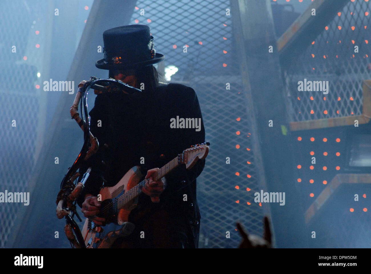 Mick Mars Of Motley Crue Stock Photos & Mick Mars Of Motley Crue ...