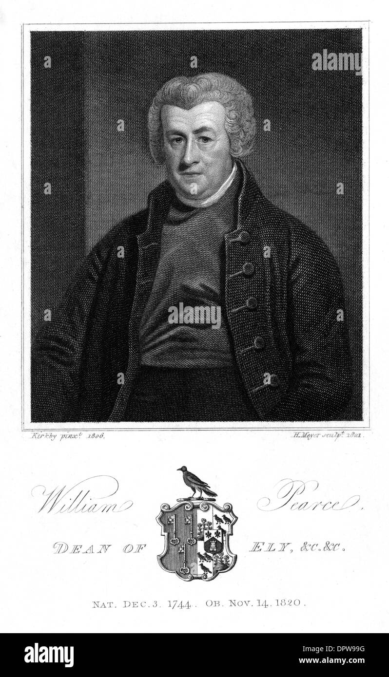 WILLIAM PEARCE - Stock Image