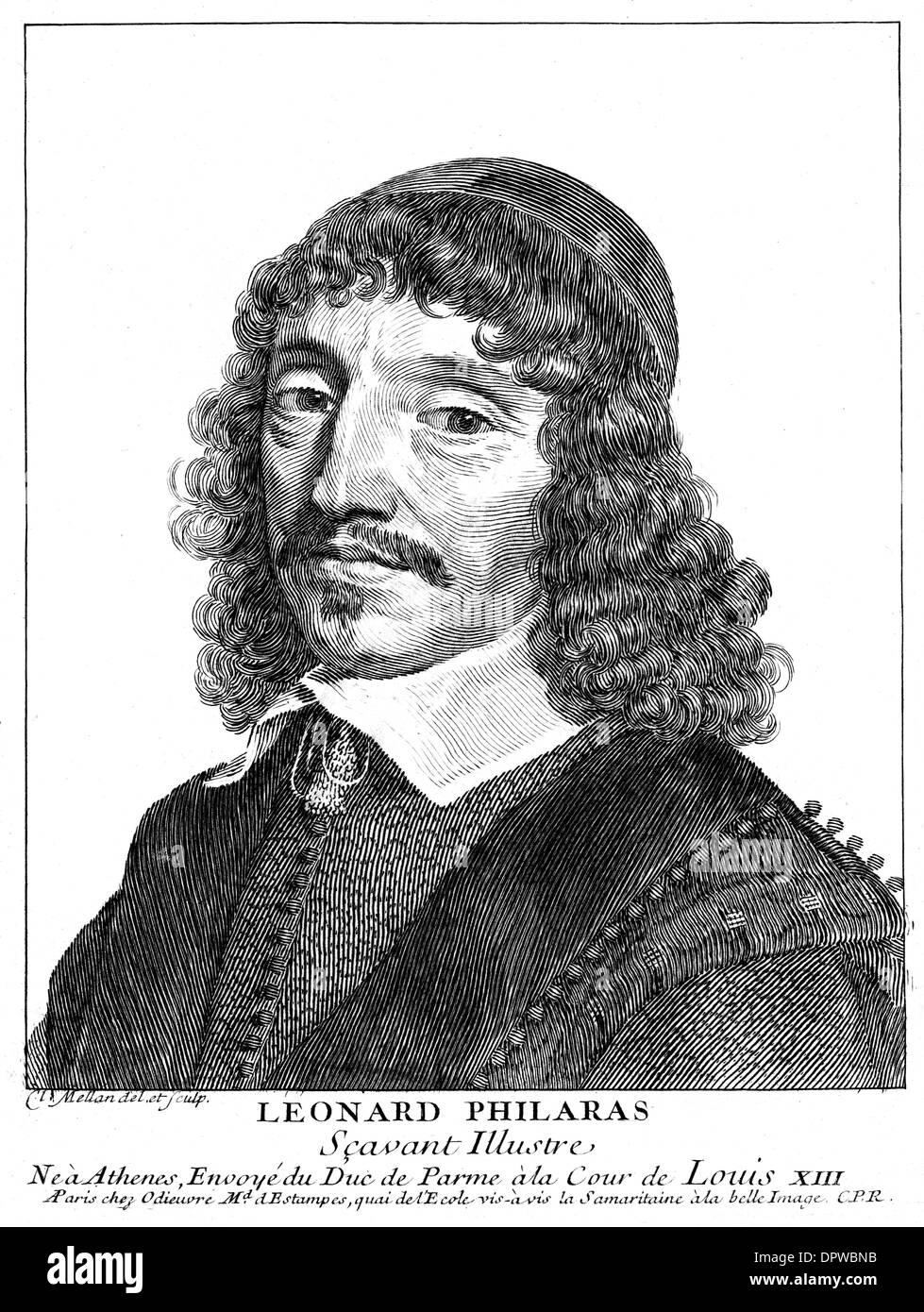LEONARD PHILARAS - Stock Image