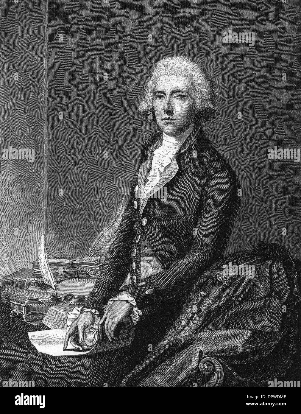 WILLIAM PITT (YOUNGER) - Stock Image