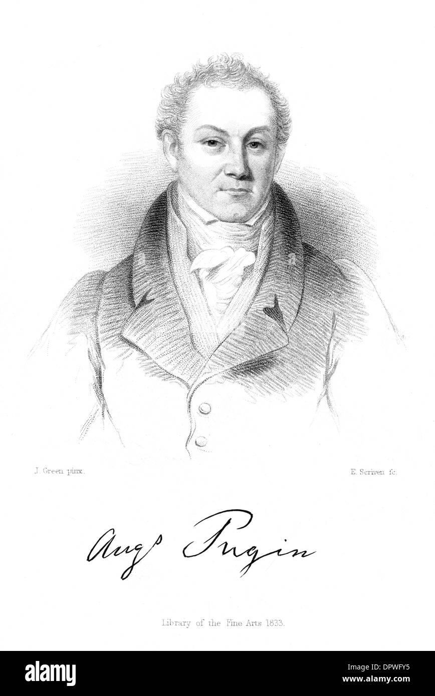 AUGUSTUS PUGIN (ELDER) - Stock Image