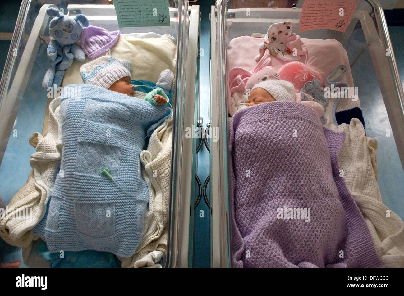 Boy Girl Twins Babies High Resolution Stock Photography And Images Alamy