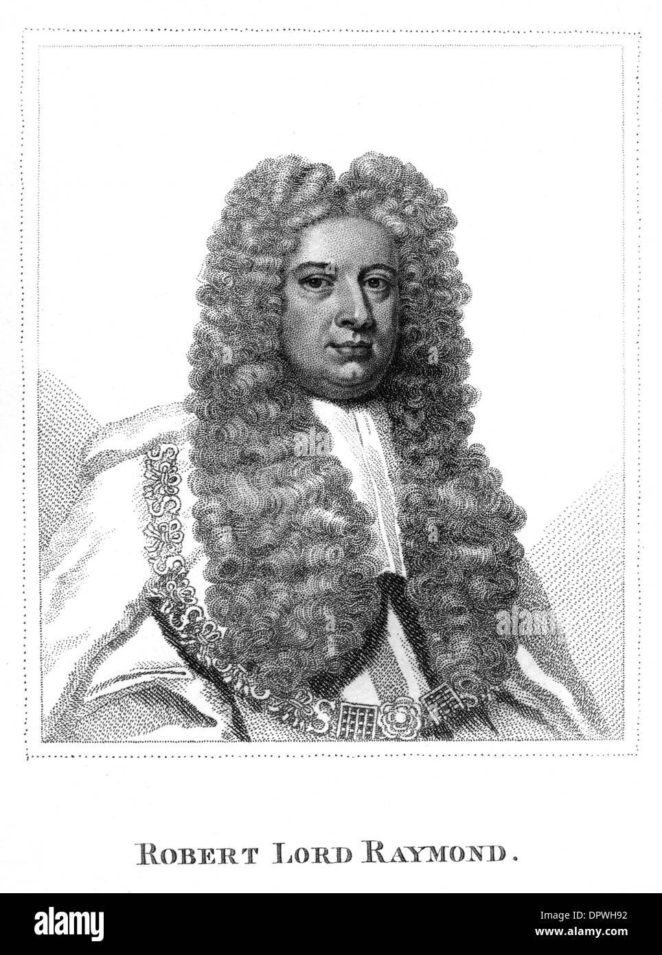 ROBERT BARON RAYMOND - Stock Image