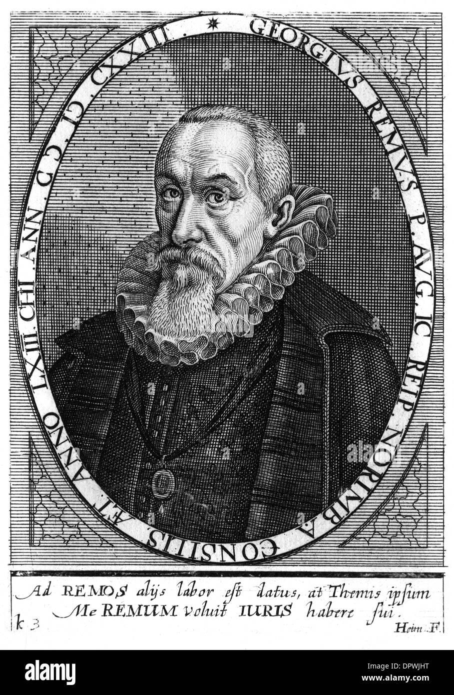 GEORG REMUS - Stock Image