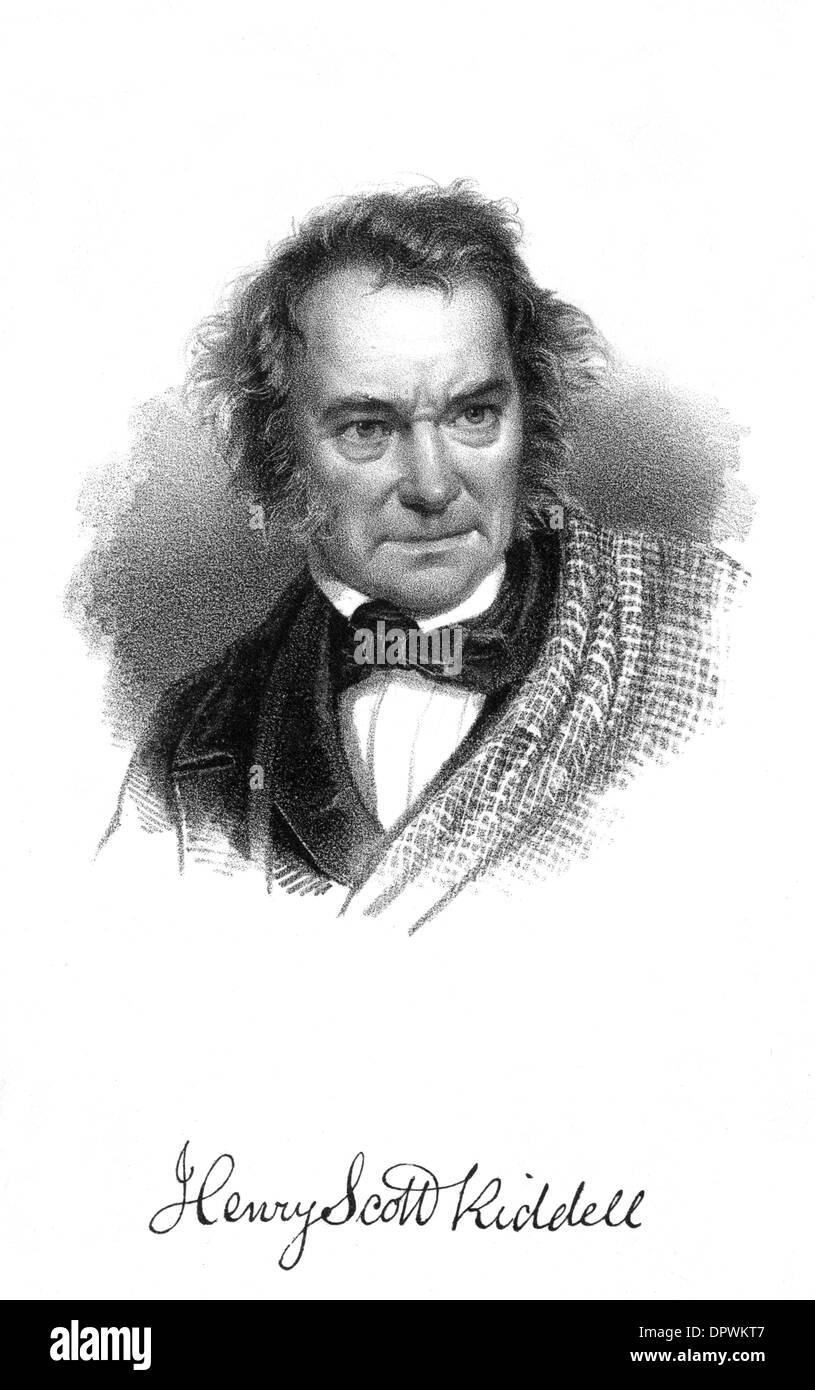 HENRY SCOTT RIDDELL - Stock Image