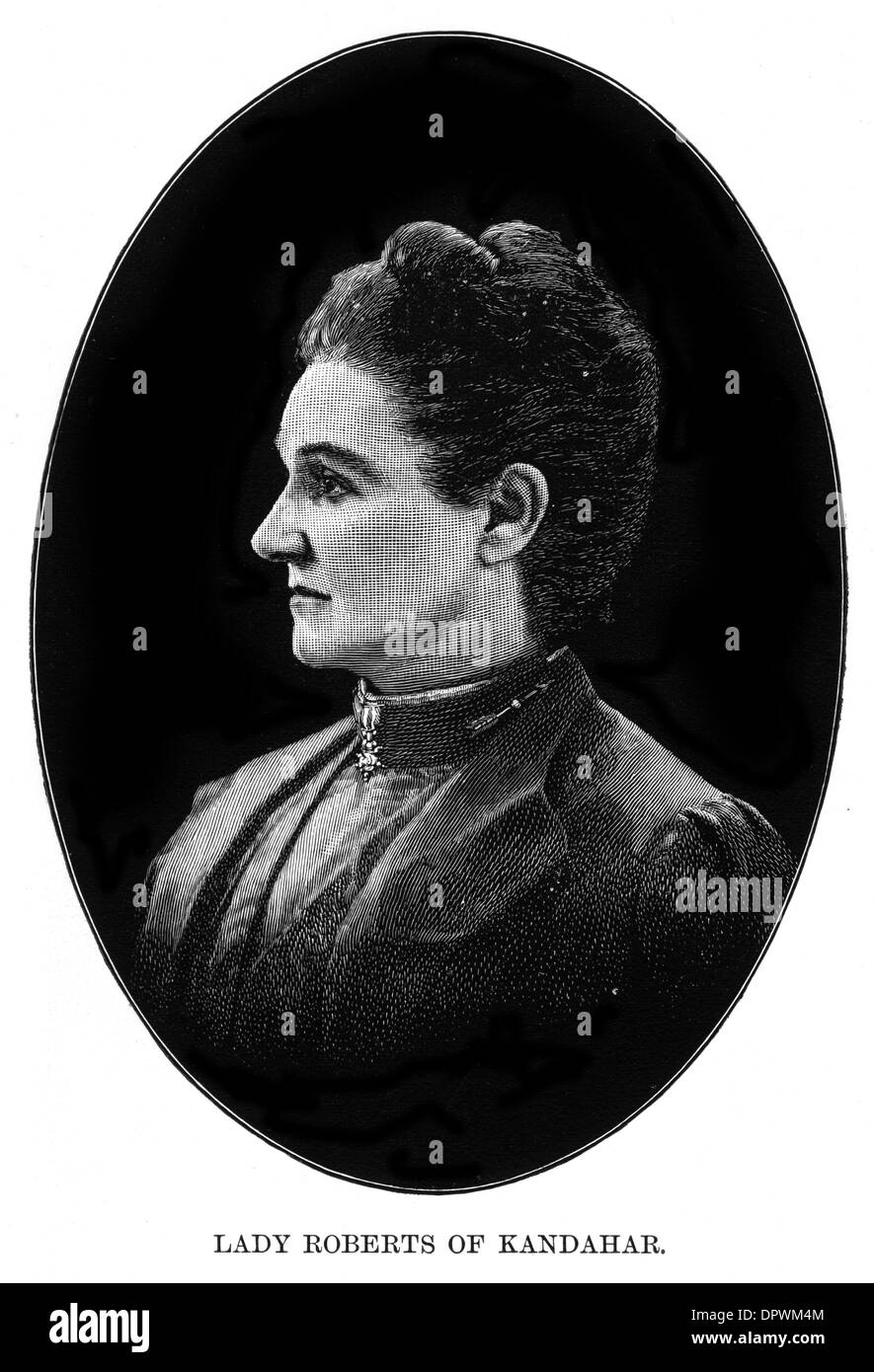 LADY ROBERTS (WIFE) - Stock Image