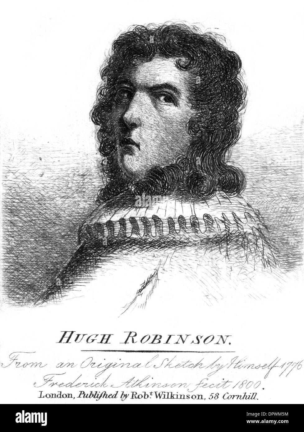 HUGH ROBINSON Stock Photo