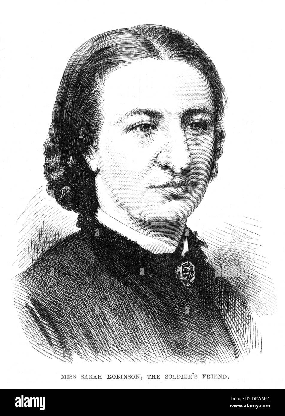 SARAH ROBINSON - Stock Image