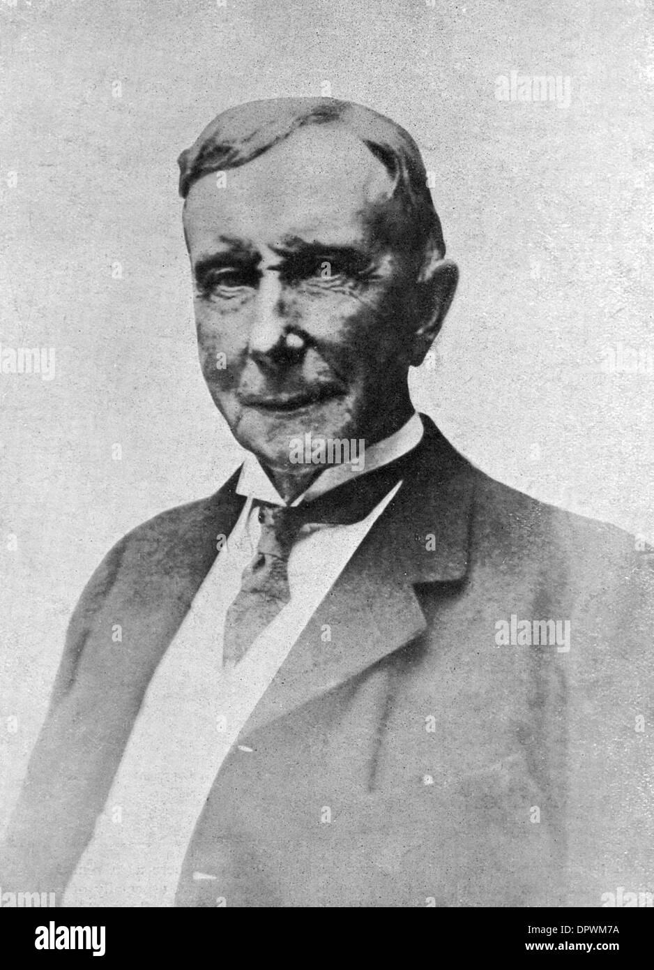 JOHN D ROCKEFELLER - Stock Image