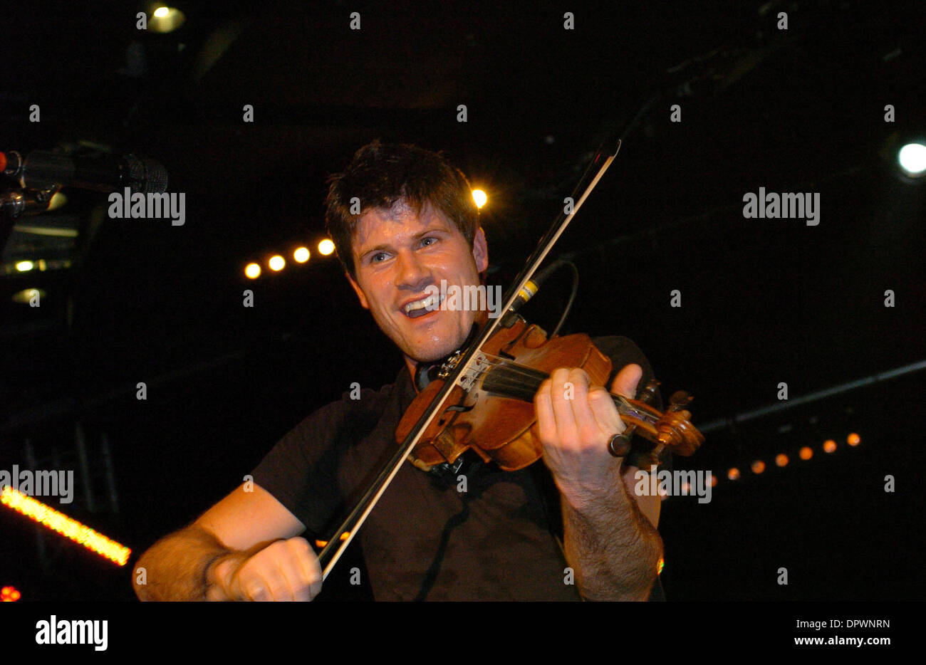 Jan 19, 2009 - Cannes, France - Musician SETH LAKEMAN performing live on stage at MIDEM 2009. The World's Music Community annual event MIDEM, the music industry's largest BtoB event, brings together 9,000 professionals from 90 countries to do business. (Credit Image: © Frederic Injimbert/ZUMA Press) - Stock Image