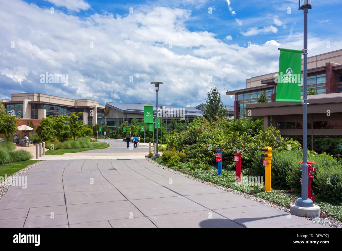 photo microsoft office redmond washington. Microsoft Head Office Campus In Redmond, Washington, USA Photo Redmond Washington H
