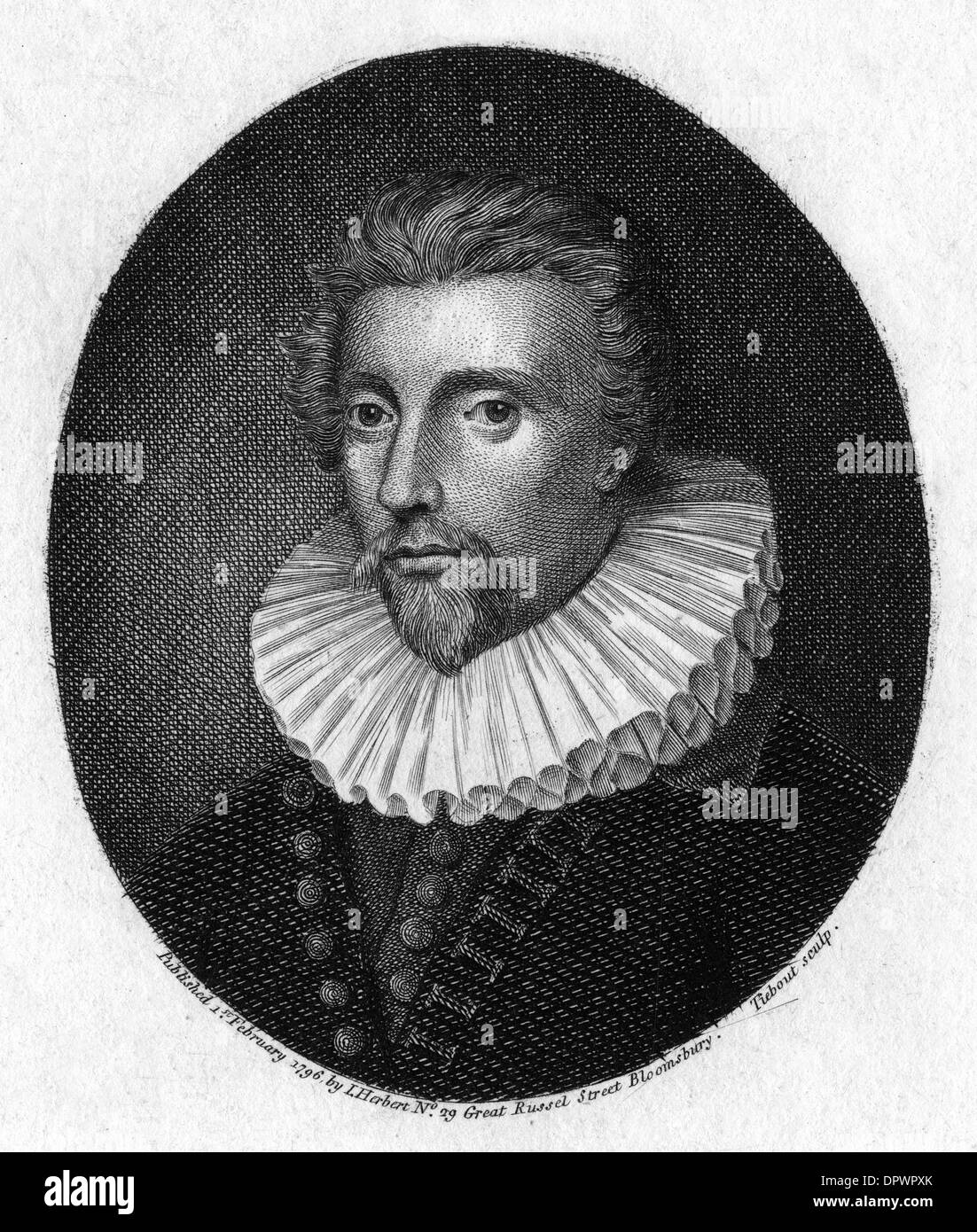 SIR CONRAD RUTHVEN - Stock Image